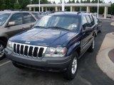 2002 Patriot Blue Pearlcoat Jeep Grand Cherokee Laredo #38077164