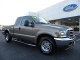 2002 Arizona Beige Metallic Ford F250 Super Duty Lariat SuperCab #38076315