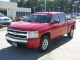 Victory Red Chevrolet Silverado 1500 in 2008