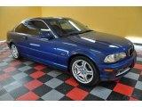 2001 Topaz Blue Metallic BMW 3 Series 330i Coupe #38076747
