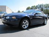 2003 True Blue Metallic Ford Mustang V6 Convertible #38077234