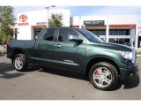 2008 Timberland Green Mica Toyota Tundra Limited Double Cab 4x4 #38076002