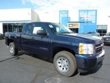 2011 Imperial Blue Metallic Chevrolet Silverado 1500 LS Extended Cab 4x4 #38076391