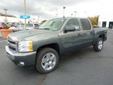 2011 Chevrolet Silverado 1500 Steel Green Metallic
