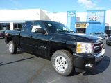 2011 Black Chevrolet Silverado 1500 LT Extended Cab 4x4 #38076399