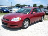 2006 Sport Red Metallic Chevrolet Impala LS #38077283