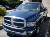 Patriot Blue Pearlcoat Dodge Ram 1500 in 2002