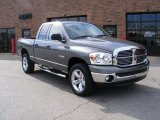 2008 Mineral Gray Metallic Dodge Ram 1500 Big Horn Edition Quad Cab 4x4 #38076039