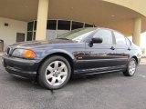 2001 Orient Blue Metallic BMW 3 Series 325i Sedan #38077306