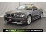 2006 Sparkling Graphite Metallic BMW 3 Series 330i Convertible #38076069