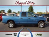 2003 Atlantic Blue Pearl Dodge Ram 1500 SLT Quad Cab 4x4 #38076082