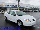 2007 Summit White Chevrolet Cobalt LS Coupe #38077389