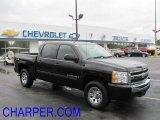 2009 Imperial Blue Metallic Chevrolet Silverado 1500 LT Crew Cab 4x4 #38077395