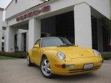 1996 Porsche 911 Speed Yellow