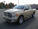 2011 White Gold Dodge Ram 1500 Big Horn Quad Cab 4x4 #38076980