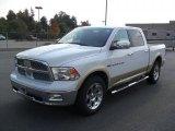 2011 Bright White Dodge Ram 1500 Laramie Crew Cab #38076981