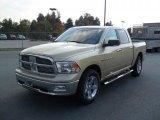 2011 White Gold Dodge Ram 1500 Big Horn Crew Cab #38076982