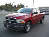 2011 Deep Cherry Red Crystal Pearl Dodge Ram 1500 ST Quad Cab #38076983