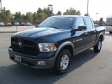 2011 Hunter Green Pearl Dodge Ram 1500 SLT Crew Cab 4x4 #38076984
