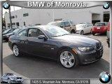 2008 Sparkling Graphite Metallic BMW 3 Series 335i Coupe #38076512