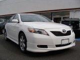 2008 Super White Toyota Camry SE V6 #38077047