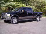 2004 Black Ford F250 Super Duty Lariat Crew Cab 4x4 #38076546