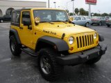 2008 Jeep Wrangler Detonator Yellow