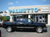 2005 Black Chevrolet Silverado 1500 LS Crew Cab #38076606