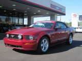 2007 Redfire Metallic Ford Mustang GT Premium Convertible #38076655