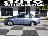 2008 Glacier Blue Metallic Acura TSX Sedan #38169907