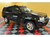 1996 Black Jeep Grand Cherokee Limited 4x4 #38169946