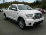 2010 Super White Toyota Tundra Limited Double Cab 4x4 #38170273