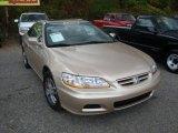 2002 Naples Gold Metallic Honda Accord EX V6 Coupe #38169695