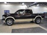 2011 Rugged Brown Pearl Dodge Ram 1500 Laramie Crew Cab #38169737