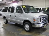 2008 Silver Metallic Ford E Series Van E350 Super Duty XLT Passenger #38169475