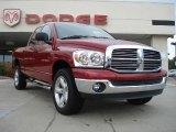 2007 Inferno Red Crystal Pearl Dodge Ram 1500 ST Quad Cab 4x4 #38170007