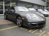 2008 Slate Grey Metallic Porsche 911 Turbo Cabriolet #38170030