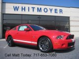 2011 Race Red Ford Mustang Shelby GT500 SVT Performance Package Coupe #38170035
