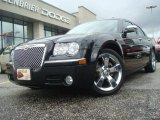 2008 Brilliant Black Crystal Pearl Chrysler 300 Touring DUB Edition #38169511