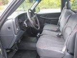 2002 Chevrolet Silverado 1500 Work Truck Regular Cab Graphite Gray Interior