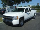2011 Summit White Chevrolet Silverado 1500 LS Extended Cab #38169569