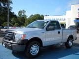2010 Ingot Silver Metallic Ford F150 XL Regular Cab #38169580