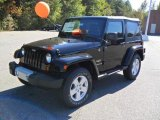 2011 Black Jeep Wrangler Sahara 4x4 #38170140