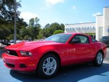 2011 Race Red Ford Mustang V6 Coupe #38169602