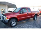 2002 Toreador Red Metallic Ford F250 Super Duty Lariat SuperCab 4x4 #38230057