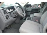 2008 Dodge Ram 1500 SLT Mega Cab 4x4 Medium Slate Gray Interior