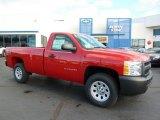 2011 Victory Red Chevrolet Silverado 1500 Regular Cab 4x4 #38229909