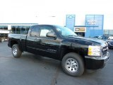2011 Black Chevrolet Silverado 1500 LS Extended Cab 4x4 #38229912