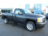 2011 Taupe Gray Metallic Chevrolet Silverado 1500 Regular Cab #38229914