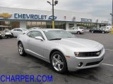 2010 Silver Ice Metallic Chevrolet Camaro LT/RS Coupe #38230369